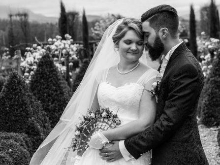 Photo de mariage à la campagne