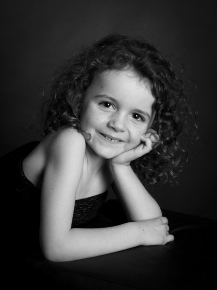 Portrait enfant en studio à Rumilly